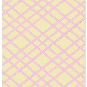 Ivory and Pink Bulletin Board - Memo Board