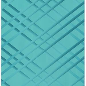 Teal on Teal Bulletin Board - Memo Board