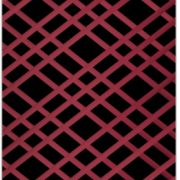 Black and Burgundy Bulletin Board - Memo Board