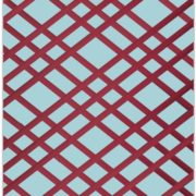 Aqua and Burgundy Bulletin Board - Memo Board
